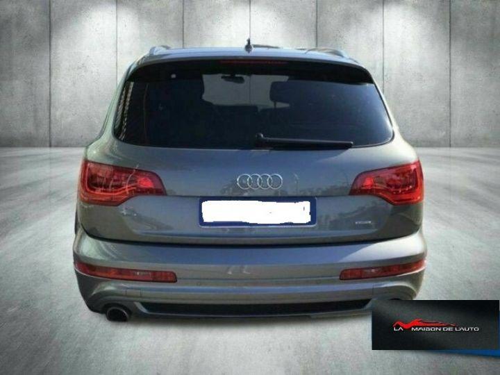 Audi Q7 Audi Audi Q7 3.0 tdi clean Advanced Plus quattro 245c Gris Peinture métallisée - 6