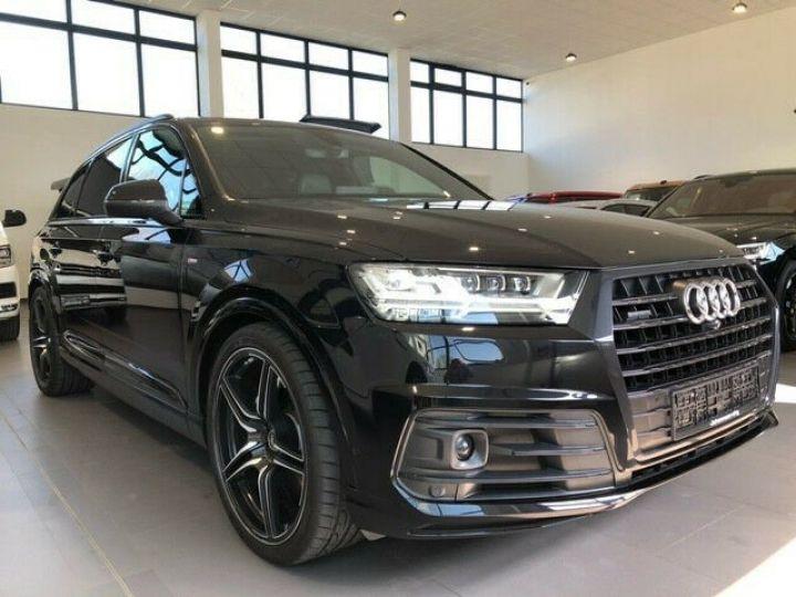 Audi Q7 Audi Q7 3.0 TDI 272 V6 S Line/ 7-PLACES/JANTES 22/PROJECTEURS Matrix/TOIT PANO/GARANTIE 12MOIS noir - 1