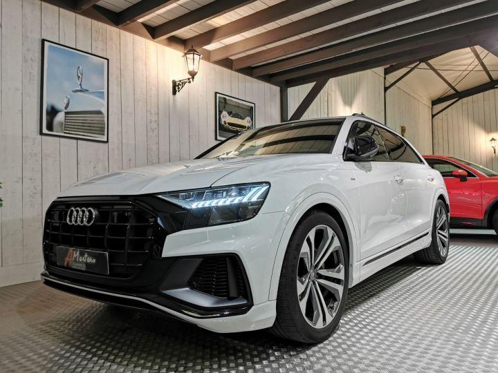 Audi Q8 50 TDI 286 CV SLINE QUATTRO BVA Blanc - 2