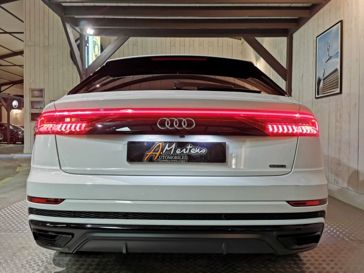 Audi Q8 50 TDI 286 CV SLINE QUATTRO BVA Blanc - 4