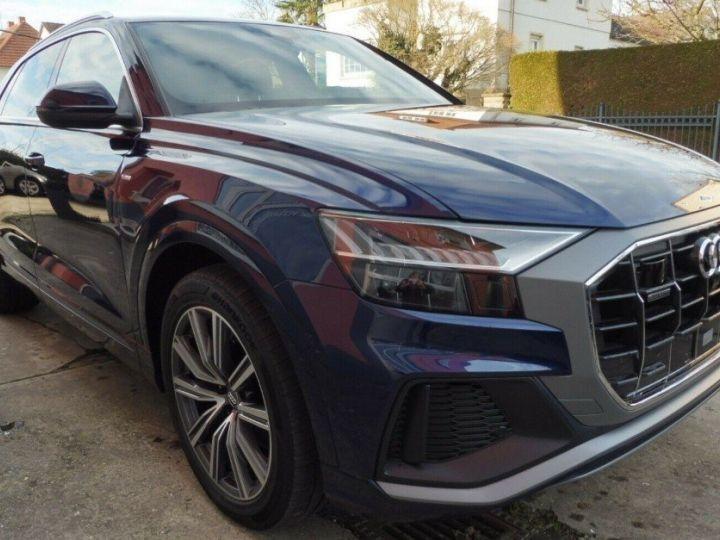 Audi Q8  50 TDI 286 quattro S-Line TIPTRONIC /02/2019 bleu métal - 2