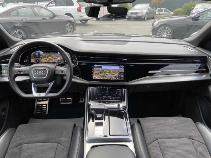 Audi Q8 50 TDI 286ch QUATTRO S-LINE TIPTRONIC 8 NOIR - 9