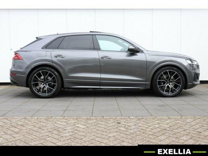 Audi Q8 50 TDI QUATTRO S LINE PLUS TIPTRONIC GRIS DAYTONA Occasion - 4