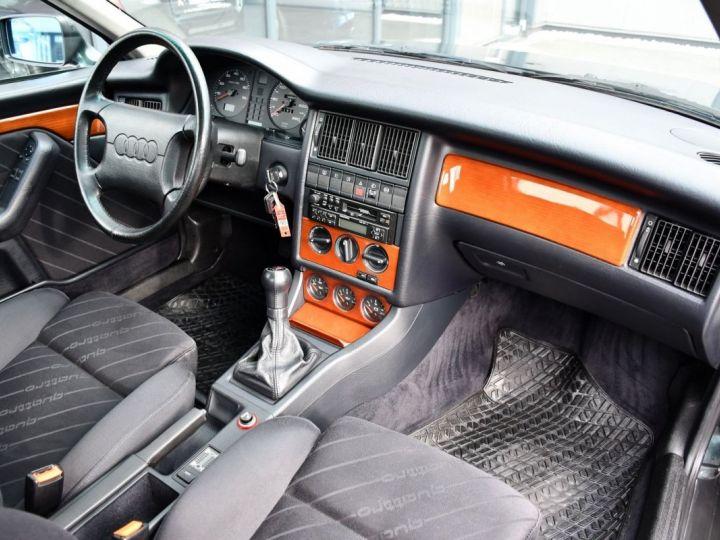 Audi QUATTRO coupé 2.8L V6 vert  - 8