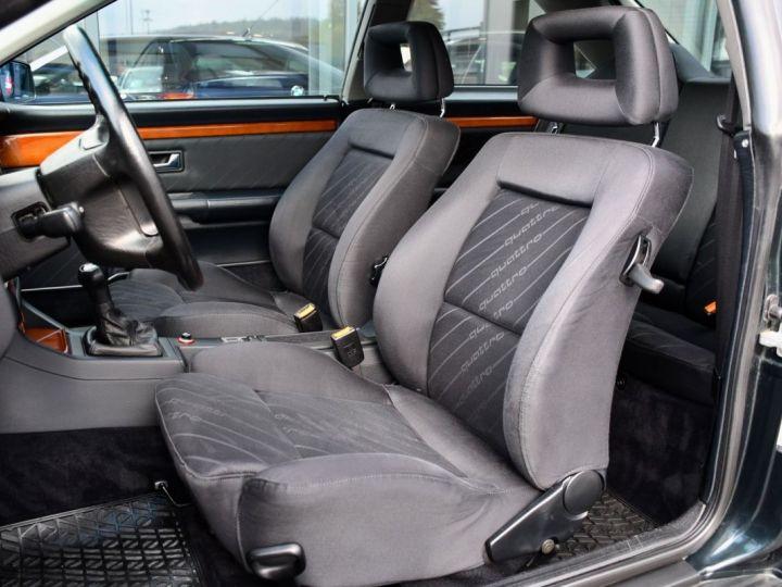 Audi QUATTRO coupé 2.8L V6 vert  - 9