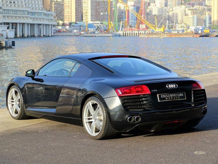 Audi R8 4.2 TFSI V8 COUPE QUATTRO R TRONIC 420 CV - MONACO Noir Metal - 4
