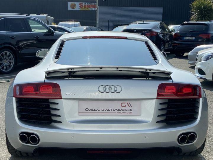 Audi R8 4.2 V8 FSI 420ch QUATTRO R-TRONIC Gris Clair - 5