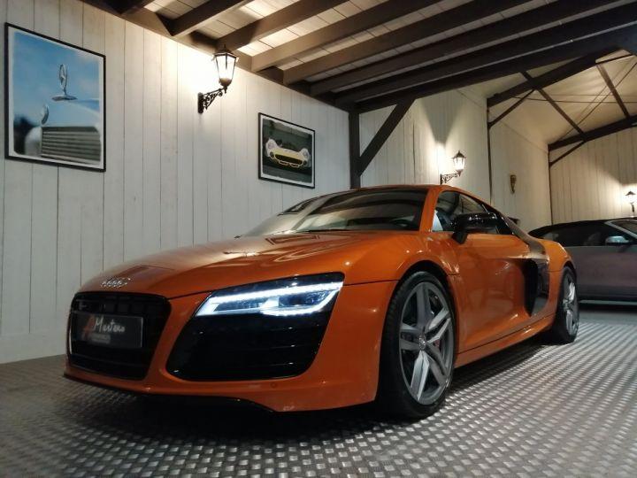 Audi R8 5.2 V10 525 cv  Orange - 2