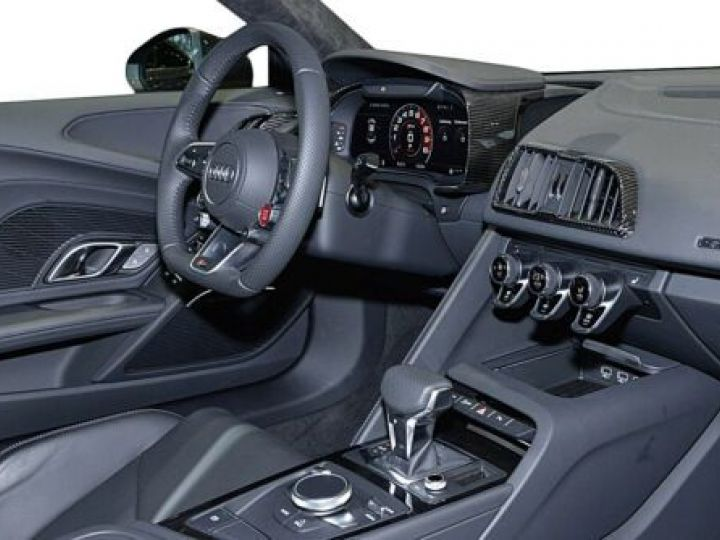 Audi R8 5.2 V10 FSI 610CH PLUS QUATTRO S TRONIC 7 GRIS Occasion - 9