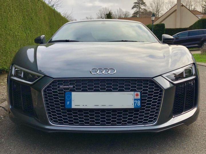 Audi R8 5.2l V10 FSI 610CH PLUS QUATTRO STRONIC 7 NOIR Vendu - 2