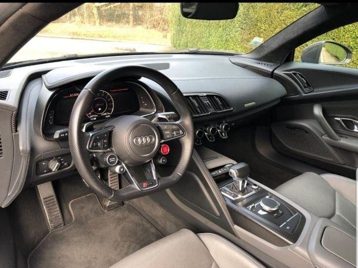 Audi R8 5.2l V10 FSI 610CH PLUS QUATTRO STRONIC 7 NOIR Vendu - 8