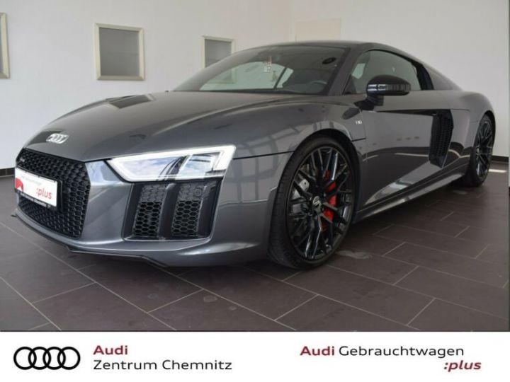 Audi R8 Audi R8 5.2 FSI * GARANTIE 3 ANS * B&O * ECHAPEMMENT SPORT * gris daytonna - 1