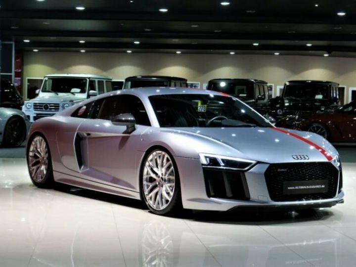 Audi R8 Audi R8 Coupé 5.2 FSI RWS * ECHAPPEMENT SPORT * LED * 20 GARANTIE 12 MOIS Gris  - 1