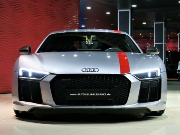 Audi R8 Audi R8 Coupé 5.2 FSI RWS * ECHAPPEMENT SPORT * LED * 20 GARANTIE 12 MOIS Gris  - 8