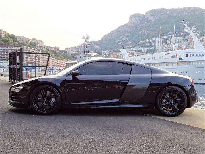 Audi R8 AUDI R8 V10 PLUS COUPE 5.2 FSI QUATTRO 550 CV - FULL CARBONE - MONACO Noir Métal - 4