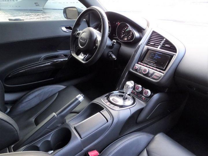 Audi R8 AUDI R8 V10 PLUS COUPE 5.2 FSI QUATTRO 550 CV - FULL CARBONE - MONACO Noir Métal - 9