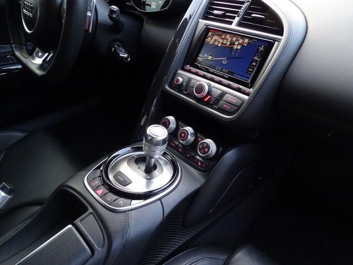 Audi R8 AUDI R8 V10 PLUS COUPE 5.2 FSI QUATTRO 550 CV - FULL CARBONE - MONACO Noir Métal - 10