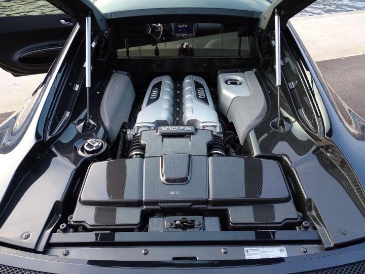 Audi R8 AUDI R8 V10 PLUS COUPE 5.2 FSI QUATTRO 550 CV - FULL CARBONE - MONACO Noir Métal - 12