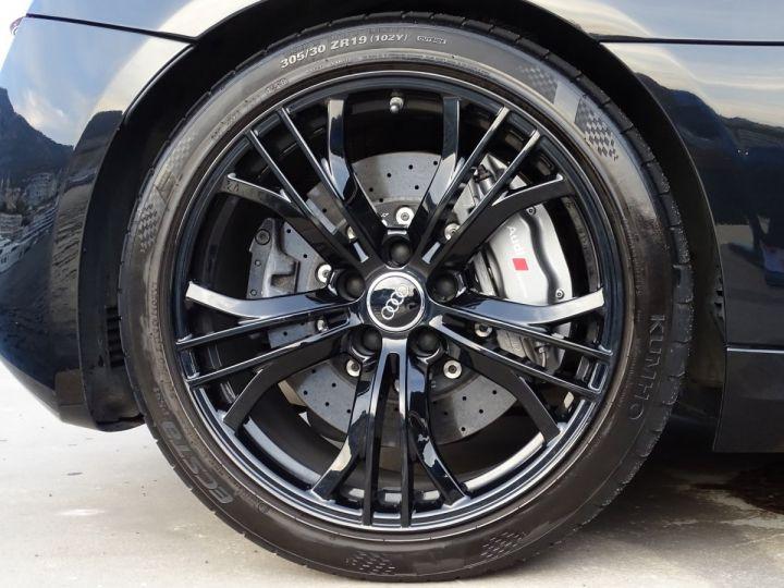 Audi R8 AUDI R8 V10 PLUS COUPE 5.2 FSI QUATTRO 550 CV - FULL CARBONE - MONACO Noir Métal - 19