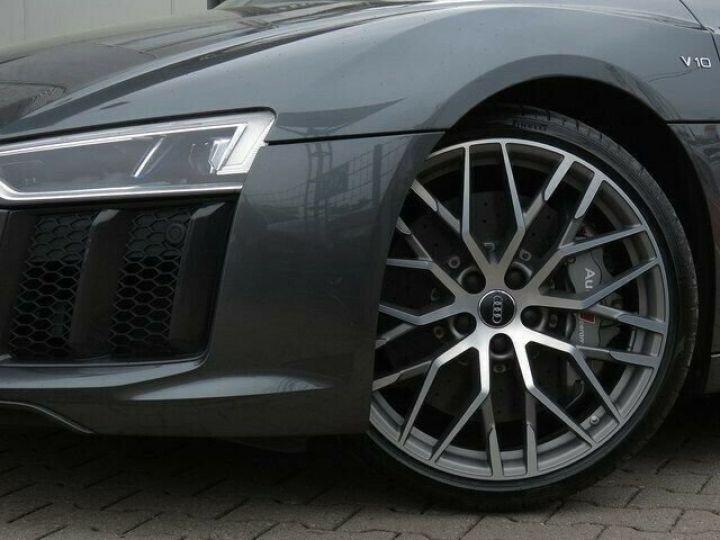 Audi R8 Coupé V10plus  GRIS PEINTURE METALISEE  Occasion - 9