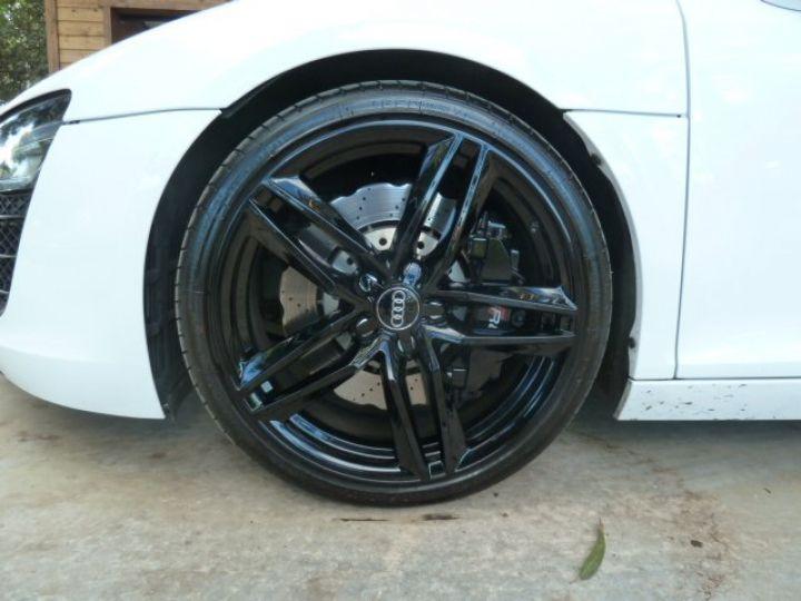 Audi R8 Spyder 4.2 V8 STRONIC 430 BLANC - 4