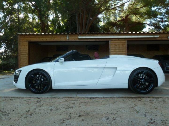 Audi R8 Spyder 4.2 V8 STRONIC 430 BLANC - 8