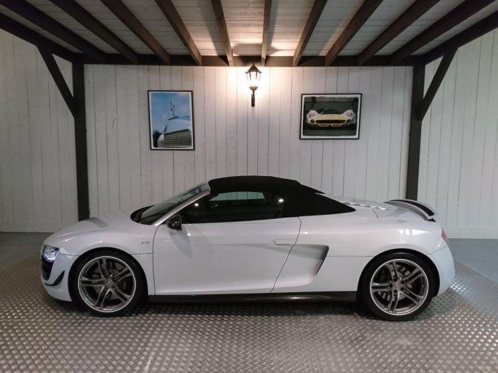 Audi R8 Spyder 5.2 V10 FSI 525 CV QUATTRO BVA Blanc - 1