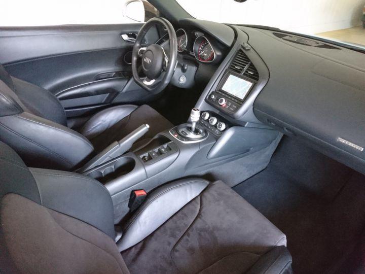 Audi R8 Spyder 5.2 V10 FSI 525 CV QUATTRO BVA Blanc - 6
