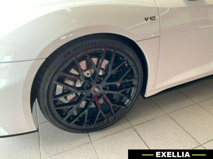 Audi R8 Spyder 5.20TFSI Quattro  BLANC PEINTURE METALISE  Occasion - 4