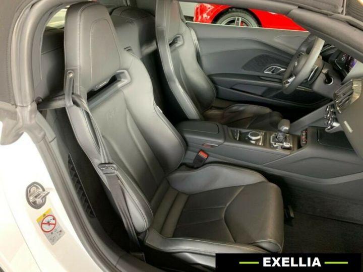 Audi R8 Spyder 5.20TFSI Quattro  BLANC PEINTURE METALISE  Occasion - 9