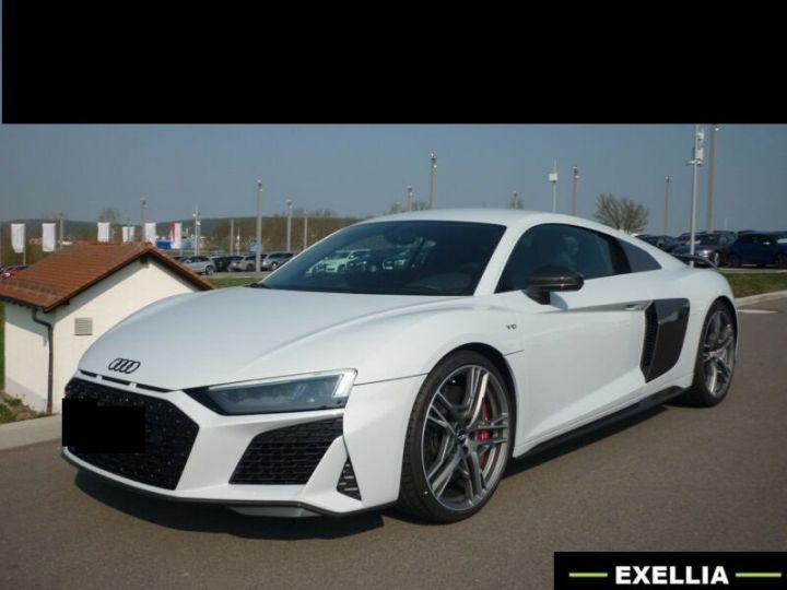 Audi R8 V10 PERFORMANCE BLANC METALISEE Occasion - 1