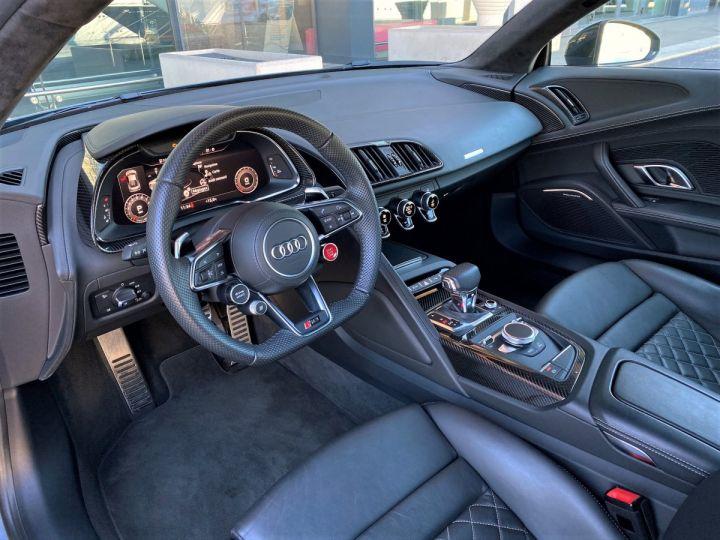 Audi R8 V10 PERFORMANCE COUPE 5.2 FSI QUATTRO 620 CV - FULL CARBONE - MONACO Gris Kemora Métal - 7