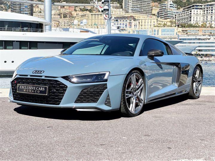 Audi R8 V10 PERFORMANCE COUPE 5.2 FSI QUATTRO 620 CV - FULL CARBONE - MONACO Gris Kemora Métal - 11