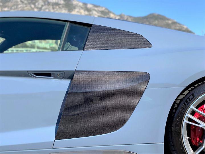 Audi R8 V10 PERFORMANCE COUPE 5.2 FSI QUATTRO 620 CV - FULL CARBONE - MONACO Gris Kemora Métal - 14