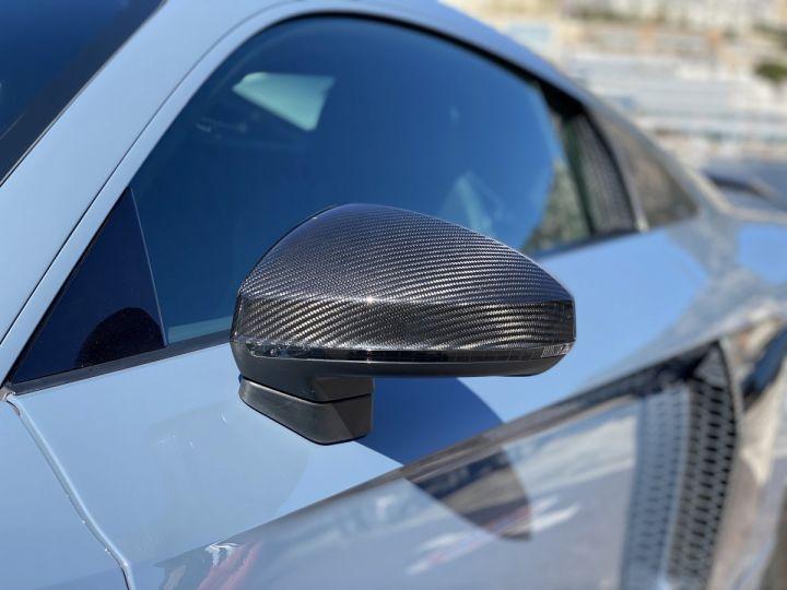 Audi R8 V10 PERFORMANCE COUPE 5.2 FSI QUATTRO 620 CV - FULL CARBONE - MONACO Gris Kemora Métal - 16