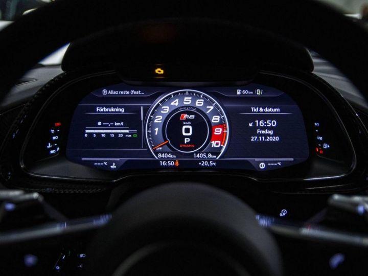 Audi R8 V10 PERFORMANCE COUPE 5.2 FSI QUATTRO 620 CV - FULL CARBONE - MONACO Gris Kemora Métal - 20