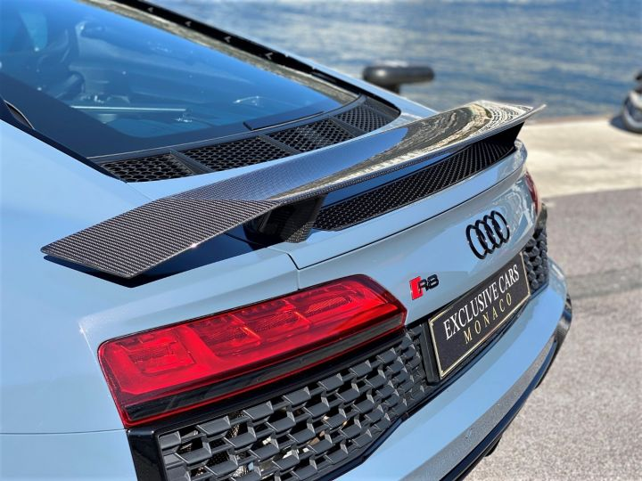 Audi R8 V10 PERFORMANCE COUPE 5.2 FSI QUATTRO 620 CV FULL CARBONE - MONACO Gris Kemora Metal - 15