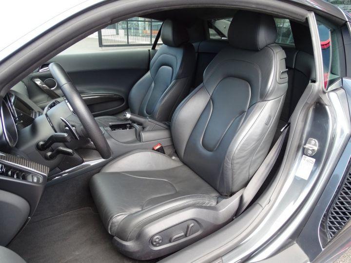 Audi R8 V10 PLUS COUPE 5.2 FSI QUATTRO 550 CV - FULL CARBONE - MONACO GRIS METAL - 8