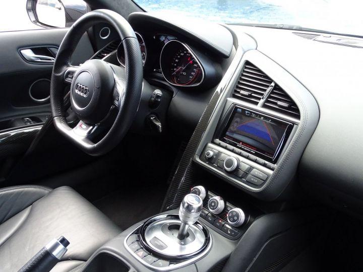 Audi R8 V10 PLUS COUPE 5.2 FSI QUATTRO 550 CV - FULL CARBONE - MONACO GRIS METAL - 9