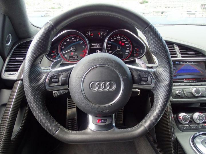 Audi R8 V10 PLUS COUPE 5.2 FSI QUATTRO 550 CV - FULL CARBONE - MONACO GRIS METAL - 10