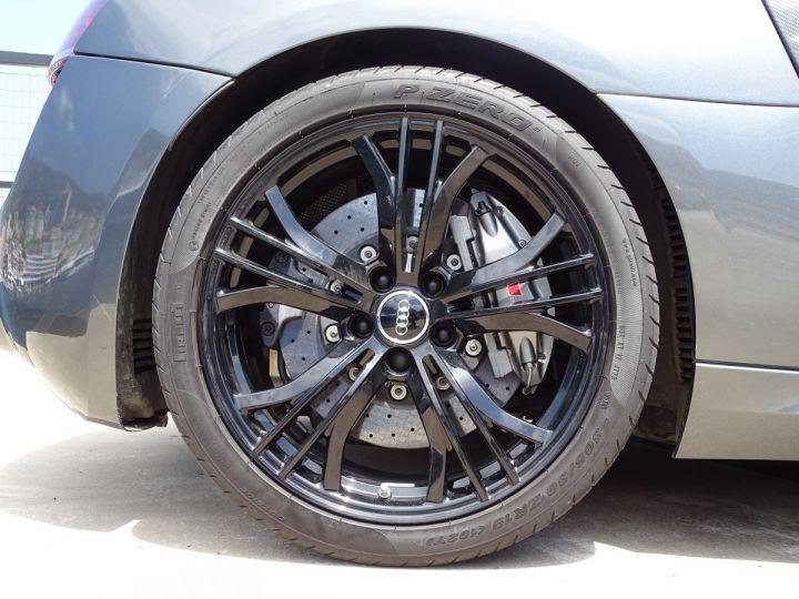 Audi R8 V10 PLUS COUPE 5.2 FSI QUATTRO 550 CV - FULL CARBONE - MONACO GRIS METAL - 18