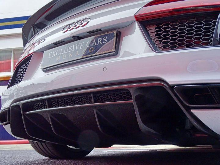 Audi R8 V10 PLUS COUPE 5.2 FSI QUATTRO 610 CV - MONACO Gris Suzuka Métal - 13