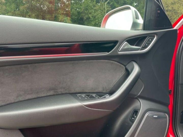 Audi RS Q3 Rouge métallisée - 11