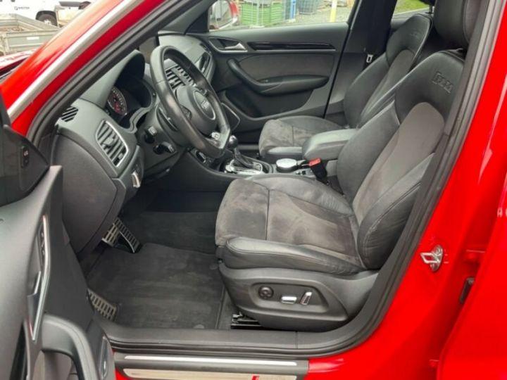 Audi RS Q3 Rouge métallisée - 12