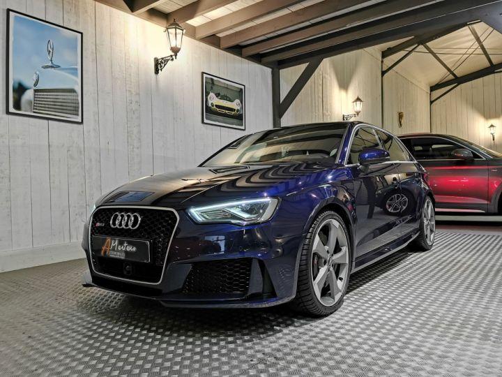Audi RS3 2.5 TFSI 367 CV QUATTRO BVA Bleu - 2