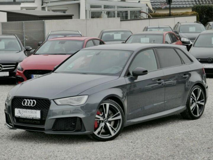 Audi RS3 Audi RS3 SportBack 2.5TFSI 367ch Quattro Stronic7 Gris Foncé - 1