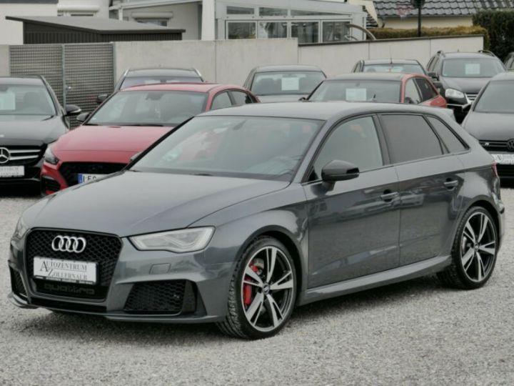 Audi RS3 Audi RS3 SportBack 2.5TFSI 367ch Quattro Stronic7 Gris Foncé - 2