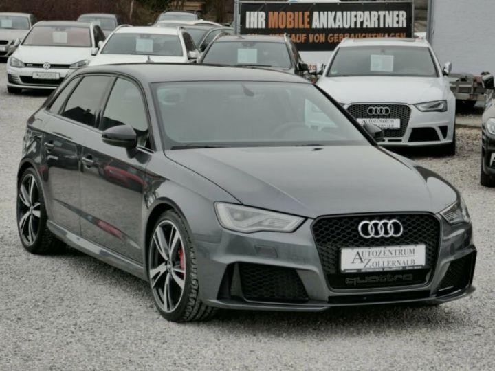 Audi RS3 Audi RS3 SportBack 2.5TFSI 367ch Quattro Stronic7 Gris Foncé - 4