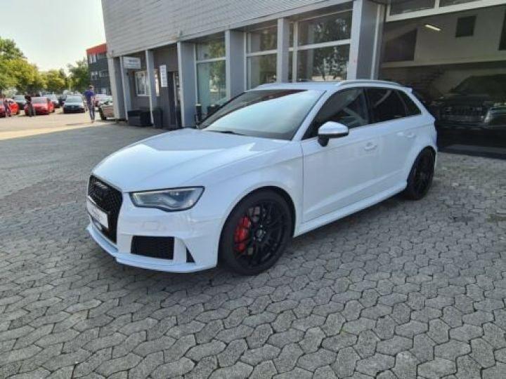 Audi RS3 Sportback Blanc - 1