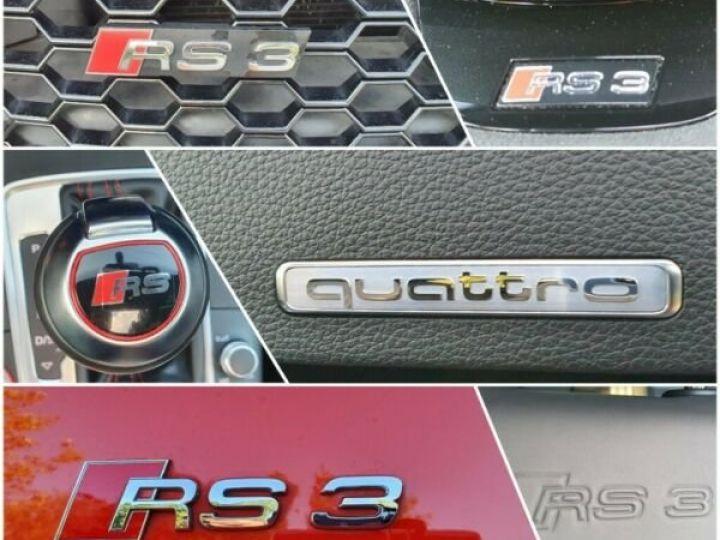 Audi RS3 Sportback 2.5 TFSI rouge - 11